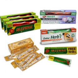 Зубные пасты, севаки (уход за полостью рта)