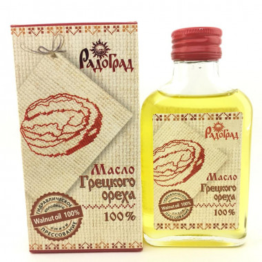Масло грецкого ореха Радоград 100мл