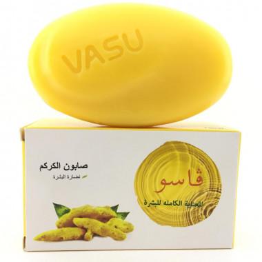 Trichup Vasu мыло с куркумой антисептическое 125гр
