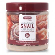 Маска для волос с экстрактом улитки Snail Hair Mask Hemani 500мл