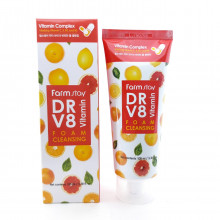 Пенка для умывания с витаминами FarmStay 100мл