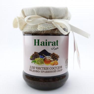 Медово-травяной сбор для чистки сосудов Hairat 250мл