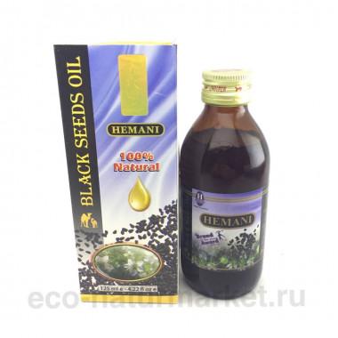 Масло черного тмина Hemani 125мл
