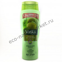 Шампунь для волос Vatika Heena & Olive Shampoo 532мл