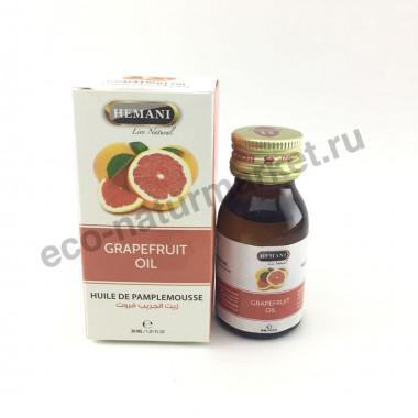 Масло грейпфрута Hemani (эфирное) 30мл